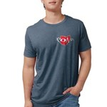 Small Logo Tri-Blend T-Shirt