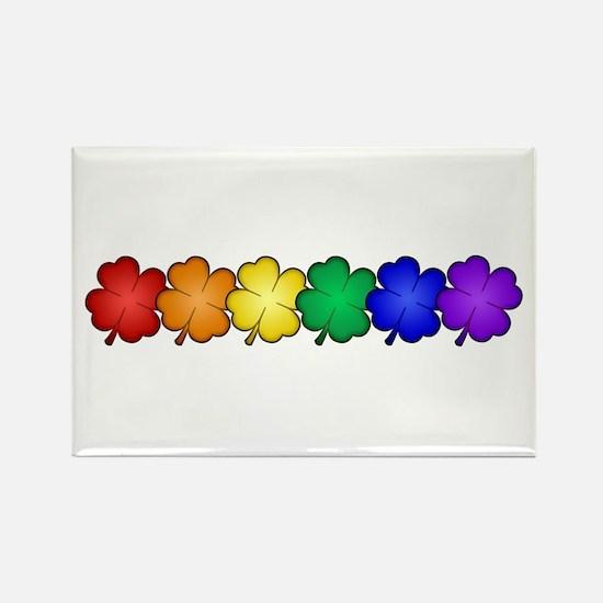 Shamrock Pride Rectangle Magnet