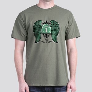 Coast the Coast -wing Dark T-Shirt