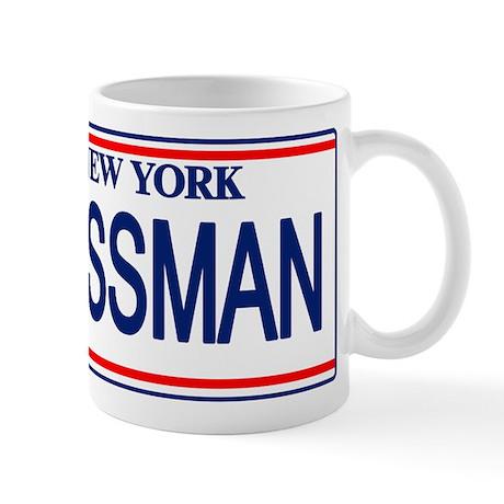 Seinfeld Ass Man License Plat Mug