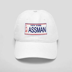 Seinfeld Ass Man License Plat Cap