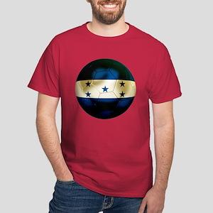 Honduras Football Dark T-Shirt