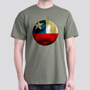 Chile Football Dark T-Shirt