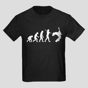 Guitar Player Kids Dark T-Shirt