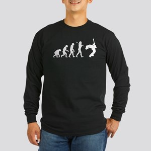 Guitar Player Long Sleeve Dark T-Shirt