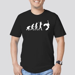 Guitar Player Men's Fitted T-Shirt (dark)