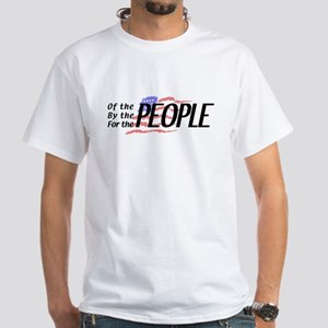 Tea Party For the People White T-Shirt