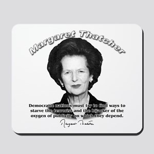 Margaret Thatcher 04 Mousepad
