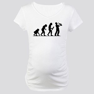 Saxophone Player Maternity T-Shirt