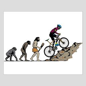 Mountain Biking Small Poster