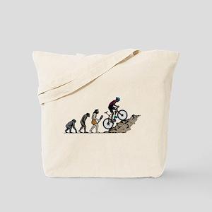 Mountain Biking Tote Bag