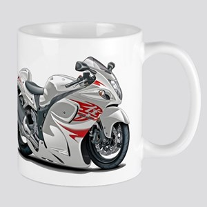 Hayabusa White-Red Bike Mug