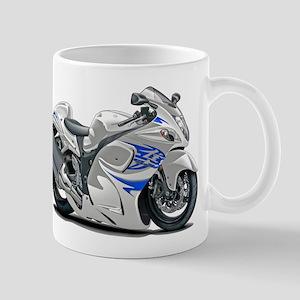 Hayabusa White-Blue Bike Mug