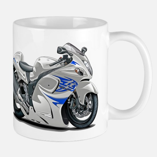 Hayabusa White-Blue Bike Mug
