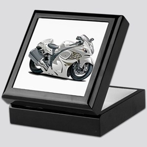 Hayabusa White Bike Keepsake Box