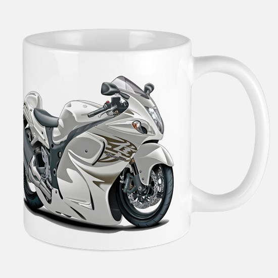 Hayabusa White Bike Mug