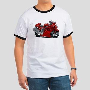 Hayabusa Red Bike Ringer T