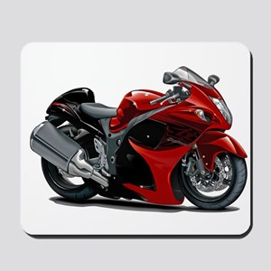 Hayabusa Red-Black Bike Mousepad