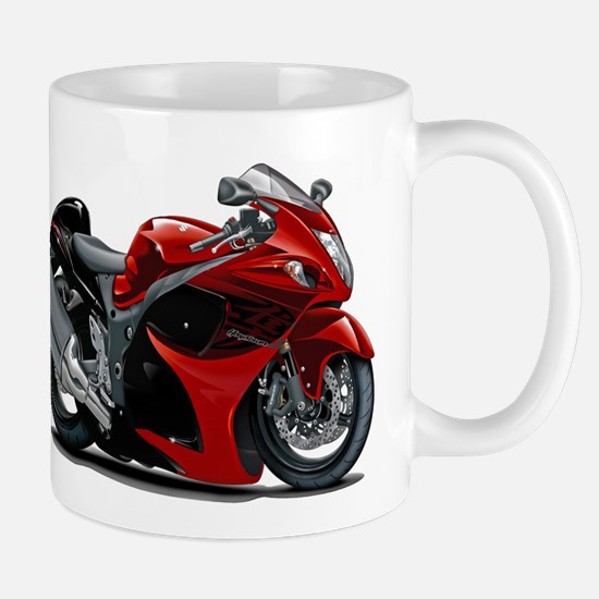 Hayabusa Red-Black Bike Mug