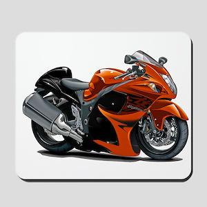 Hayabusa Orange Bike Mousepad
