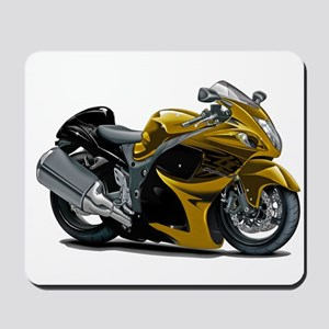 Hayabusa Gold Bike Mousepad