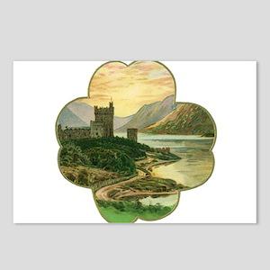 Vintage Saint Patrick's D Postcards (Package of 8)