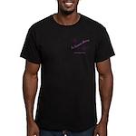 Thinking Knitter Men's Fitted T-Shirt (dark)