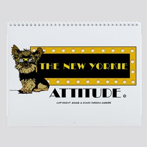 The New Yorkie Attitude Wall Calendar