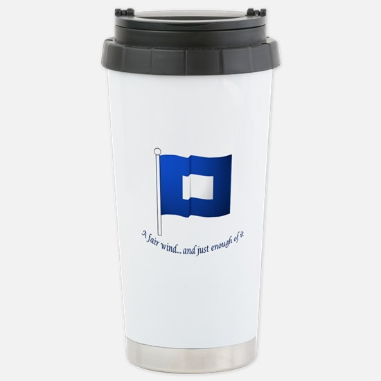 Blue Peter Stainless Steel Travel Mug