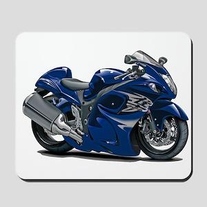 Hayabusa Dark Blue Bike Mousepad