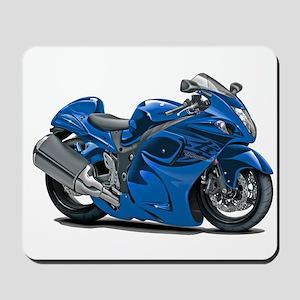Hayabusa Blue Bike Mousepad
