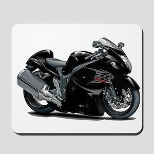 Hayabusa Black Bike Mousepad
