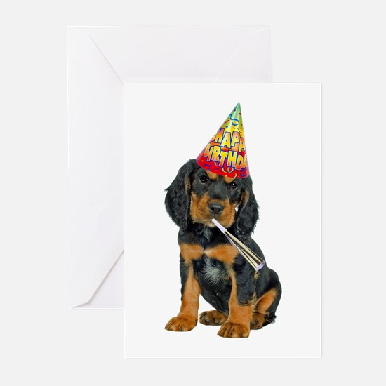 Gordon Setter Birthday Cards (Pk of 10)