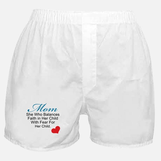Balance of Motherhood Boxer Shorts