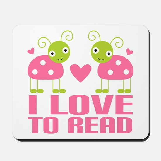 Ladybug I Love To Read Mousepad