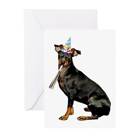 Manchester Terrier Greeting Cards (Pk of 10)