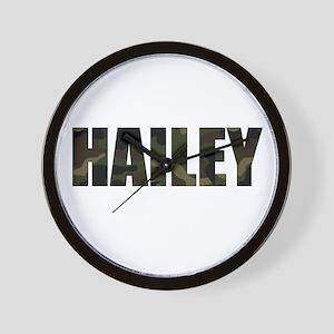 Camo Hailey Wall Clock
