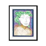 Madge Letting Go Framed Panel Print