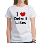 I Love Detroit Lakes Women's T-Shirt