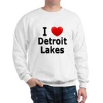 I Love Detroit Lakes Sweatshirt
