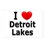 I Love Detroit Lakes Postcards (Package of 8)
