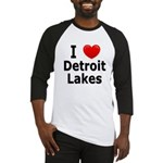 I Love Detroit Lakes Baseball Jersey