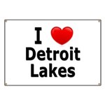I Love Detroit Lakes Banner