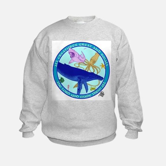 All god%27s creatures Sweatshirt