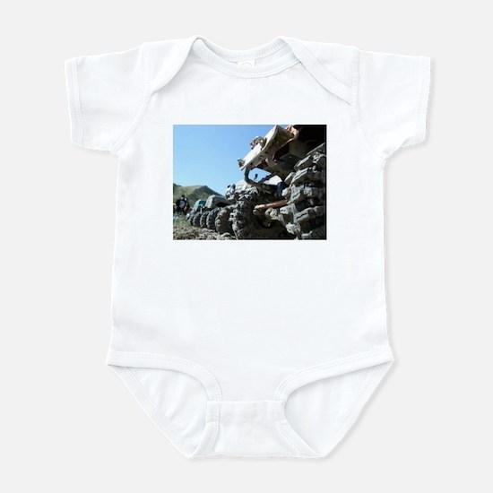 RC 4x4 TRAIL TIRES Infant Bodysuit