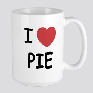 I heart pie Large Mug