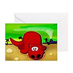 Dinosaur Painting Greeting Cards (Pk of 10)