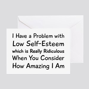 I Have Problem Greeting Card