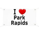 I Love Park Rapids Banner