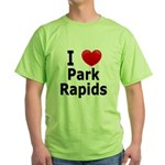 I Love Park Rapids Green T-Shirt
